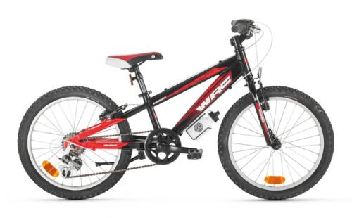 "Bicicleta infantil CONOR WRC INVADER 20"" negro-rojo"