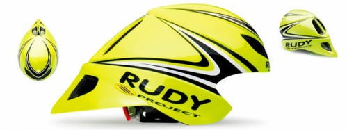 CASCO RUDY PROYECT WINGSPAN FLUO-BLACK T S/M