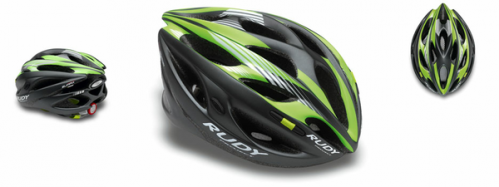 CASCO RUDY PROYECT ZUMAX GRAPHITE-LIME T S/M