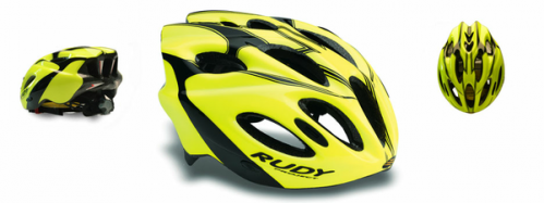 CASCO RUDY PROYECT SNUGGY YELLOW FLUO-BLACK T-S/M
