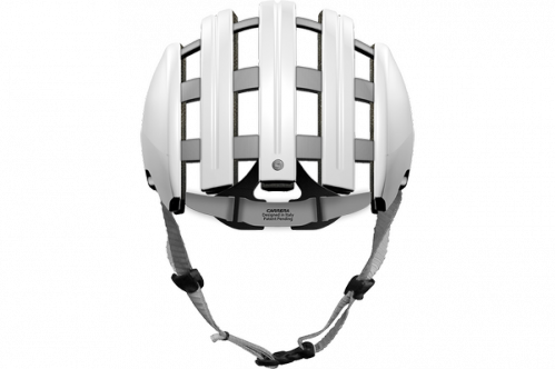 CASCO CARRERA FOLDABLE FIXIE URBAN BLANCO