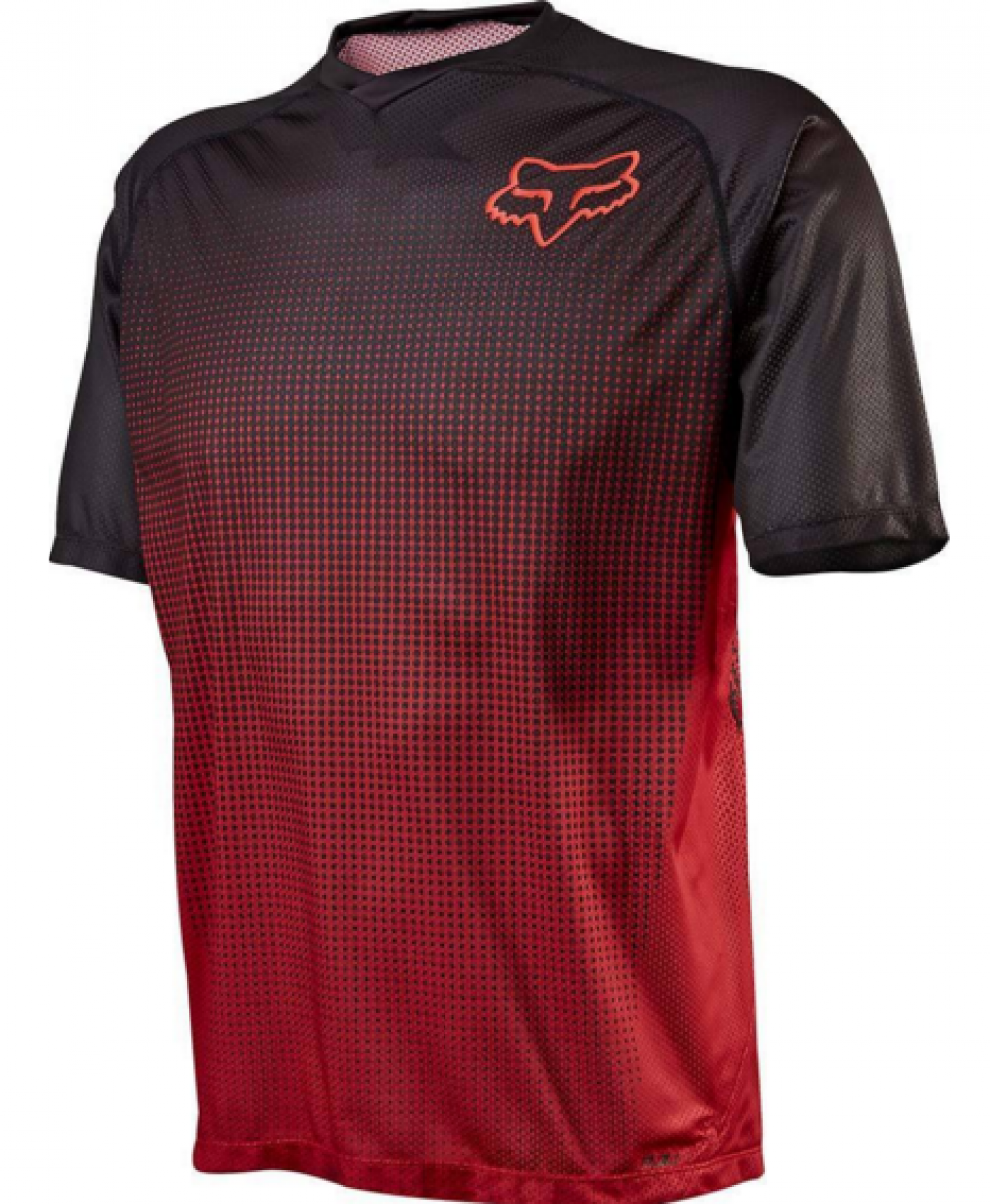 FOX Short Sleeves Jersey FLOW Red